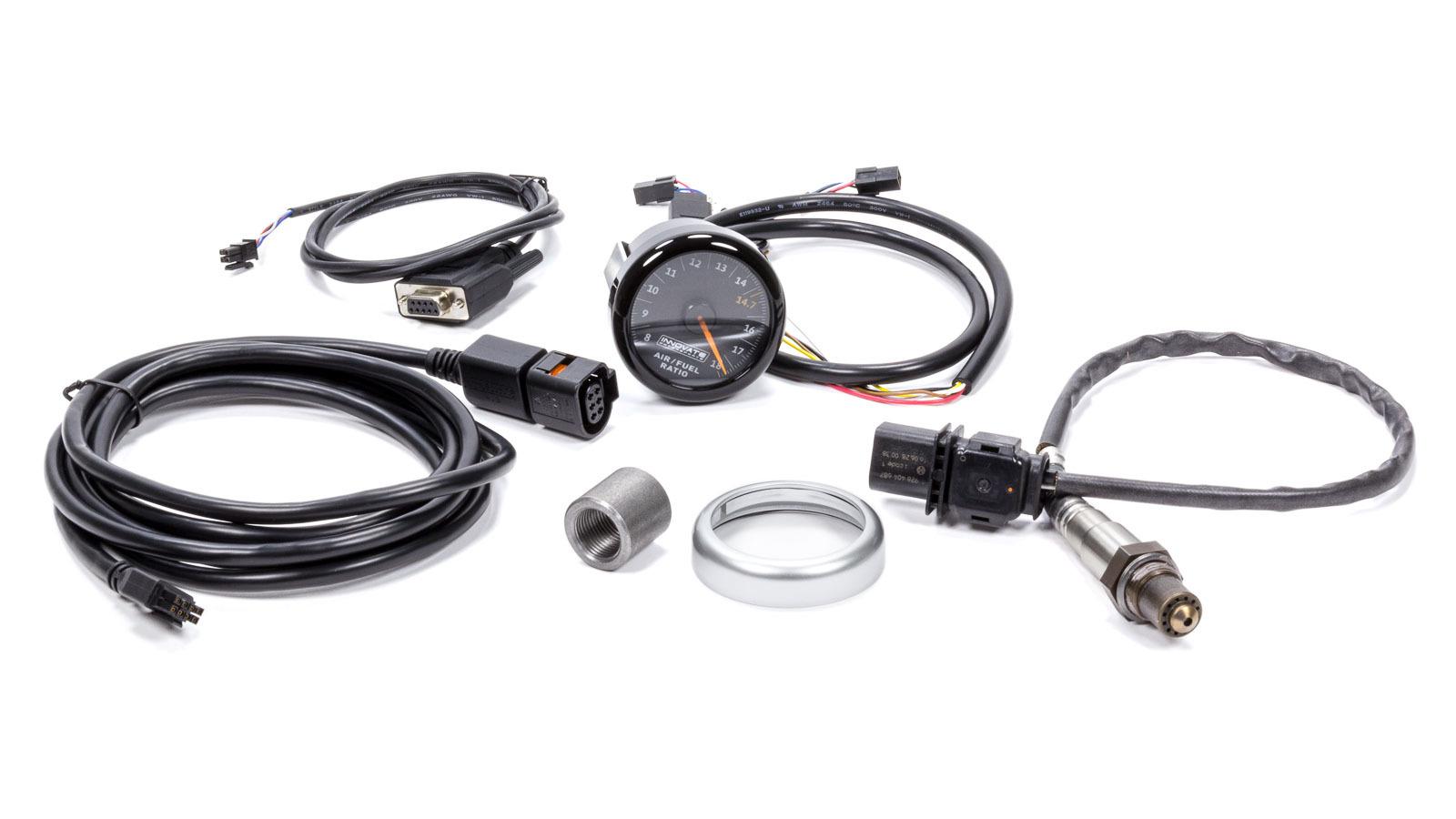 MTX-AL Air/Fuel Ratio Gauge Kit w/Black Dial