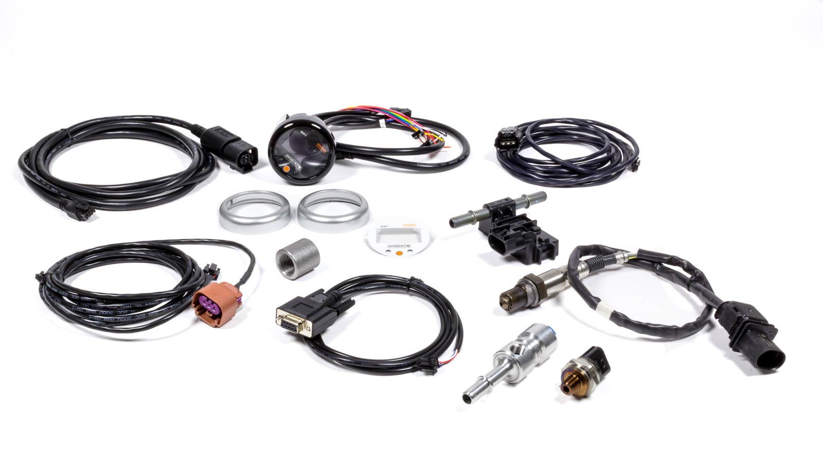 Innovate Motorsports 3903 Gauge Kit, Digital, ECF-1, Ethanol Content / Fuel Temperature / Fuel Pressure / Wideband O2, Multifunction, Ethanol Sensor Included, Kit