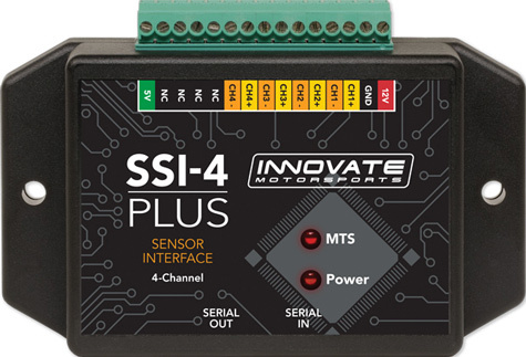 Innovate Motorsports 3914 Data Logger Sensor Interface, SSI-4, 4 Channel, Innovate LM-1/2 or MTS Components, Kit