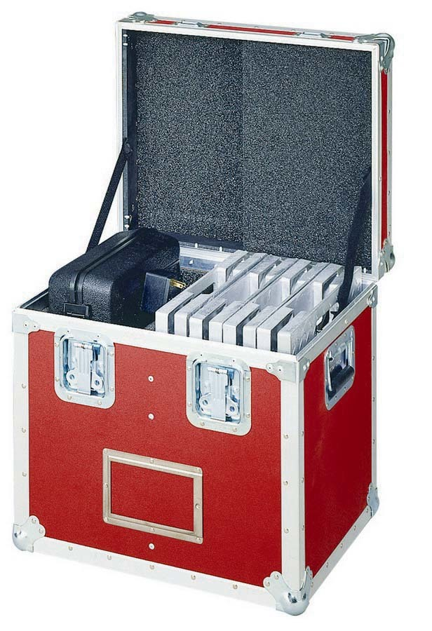 Intercomp 100055-R Scale Storage Case, 21 x 17.5 x 21 in, Foamed Lined, Holds Four Scale Pads / Cables / Controller, Aluminum Frame, Each