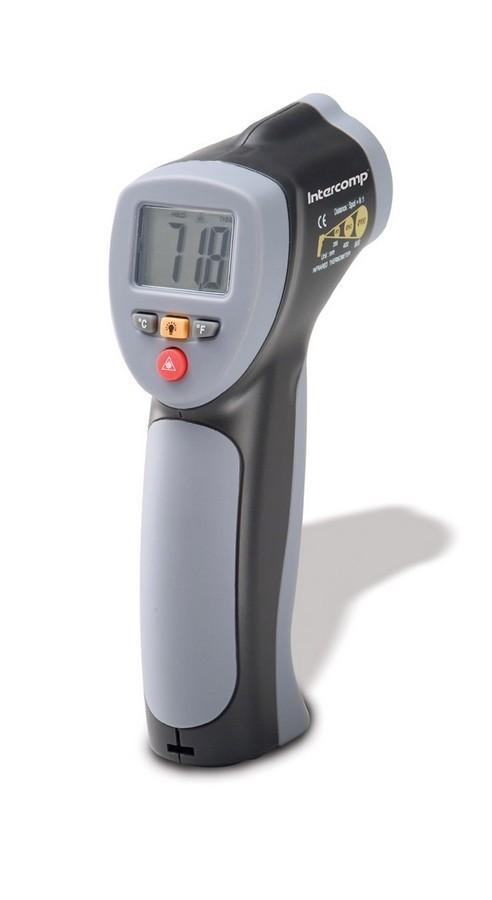 Intercomp 360018-E Pyrometer, Infrared Laser, Minus 58-1022 Degrees Fahrenheit, Case, Each