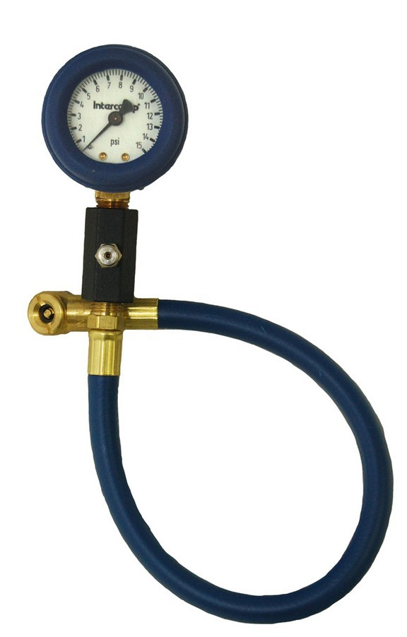 Deluxe Air Gauge 2in 0-15 PSI