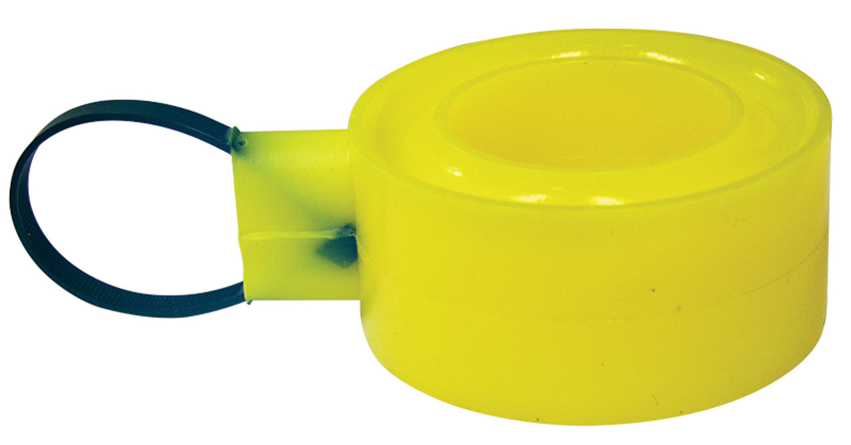 Spring Rubber C/O Soft Yellow 1-1/4in Tall