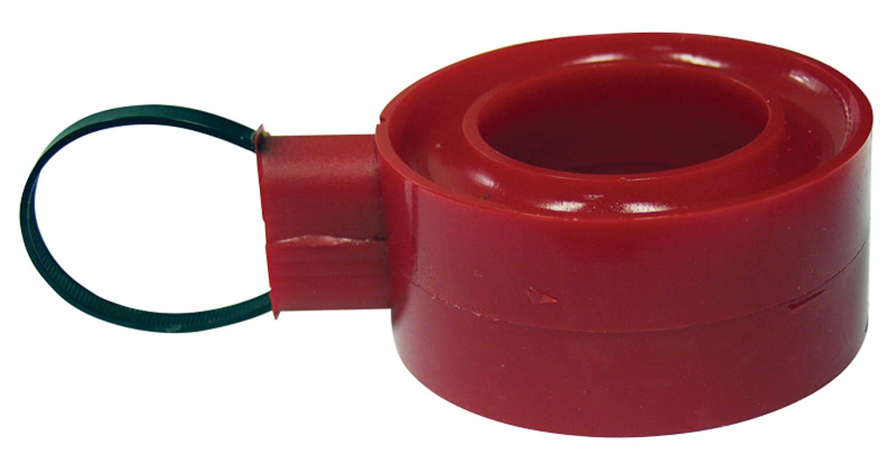 Spring Rubber C/O Hard Red 1-1/4in Tall