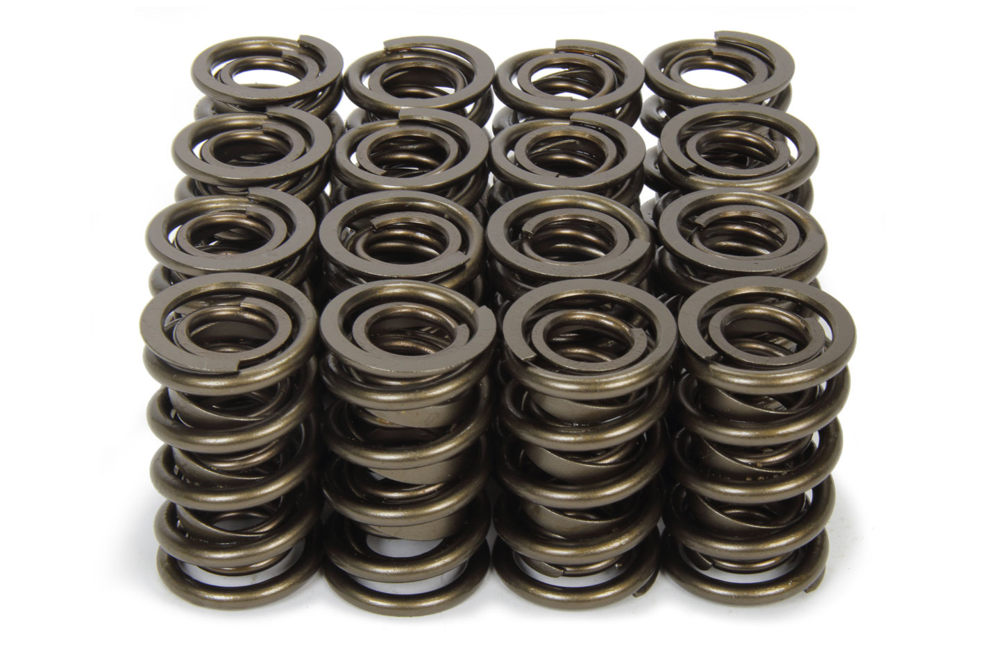 Isky Cams 9989RAD Valve Spring, RAD-9000, Dual Spring / Damper, 710 lb/in Spring Rate, 1.200 in Coil Bind, 1.570 in OD, Set of 16