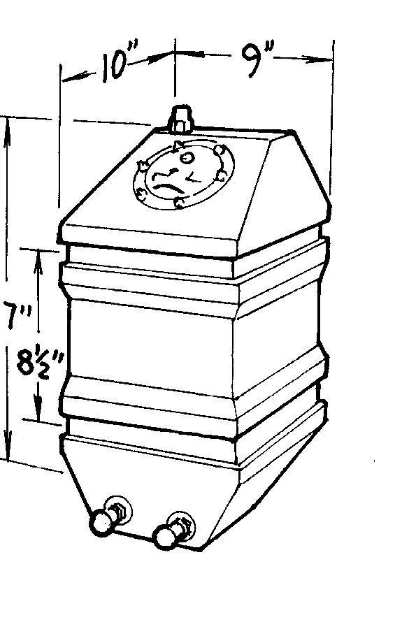4-Gallon Drag Race Cell