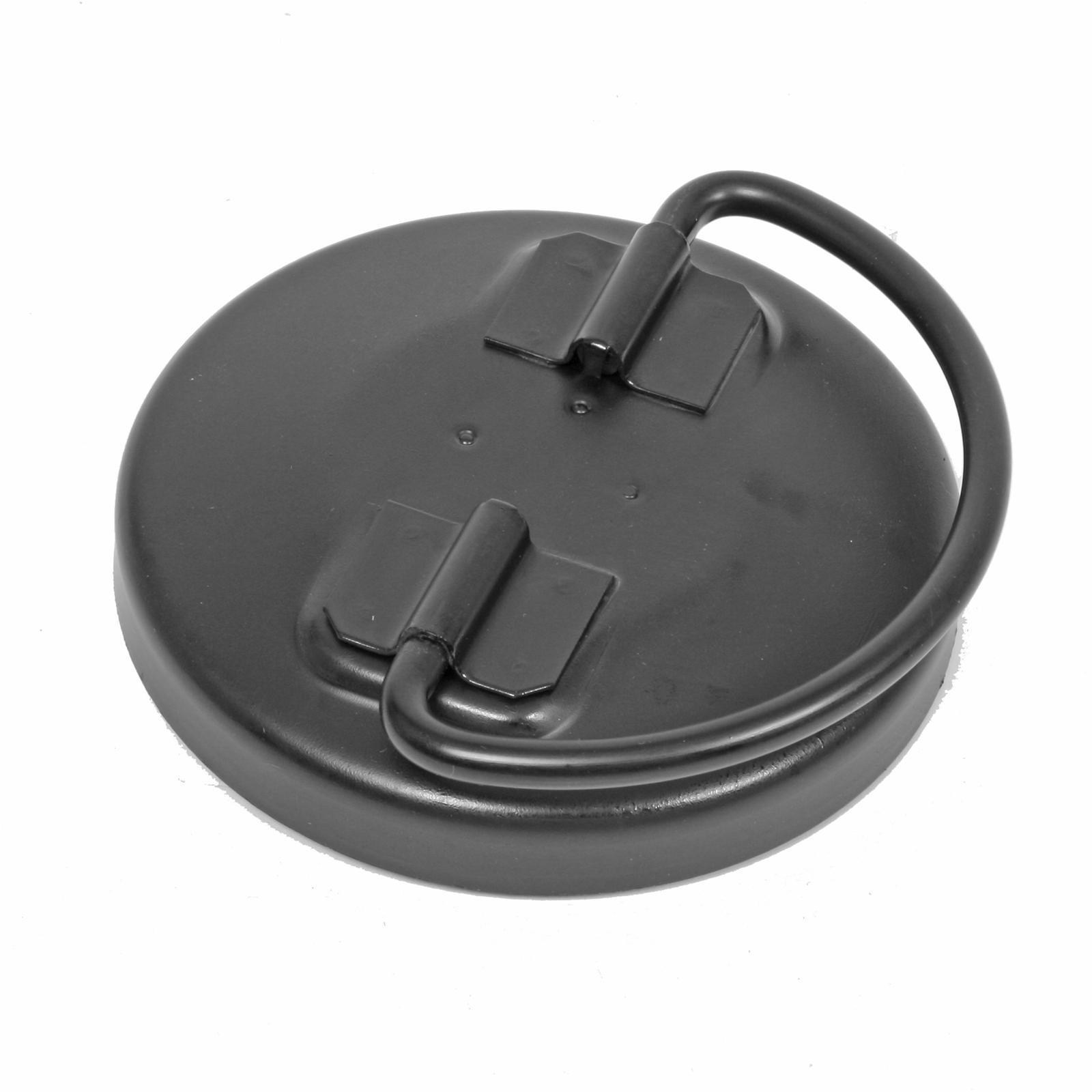 Jaz 340-300-09 Fuel Cell Filler Cap, Twist Lock, 4 in, Bail Handle, Steel, Zinc Oxide, Each