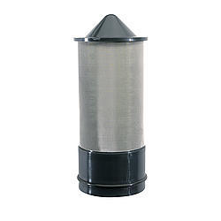 Jaz 500-000-01 Funnel Filter, 60 Micron, Stainless, JAZ Triangle / D-Shape / 11 in Round Funnels, Each