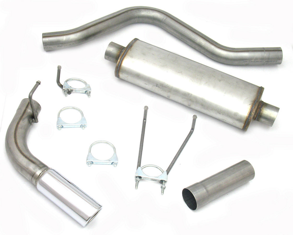 Cat-Back Exhaust Kit 06-17 Dodge Ram 1500