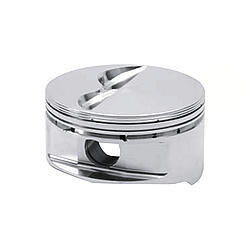 JE Pistons 170693 Piston, Tour Series GP, Forged, 4.040 in Bore, 0.043 in x 0.043 in x 3.0 mm Ring Grooves, Minus 5.0 cc, Small Block Chevy, Set of 8