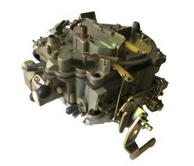 Jet Performance 35001 Carburetor, Stage 1, Quadrajet, 4-Barrel, 750 CFM, Spread Bore, Divorced Choke, Air Valve Secondary, Single Inlet, Chromate, Reman, Each