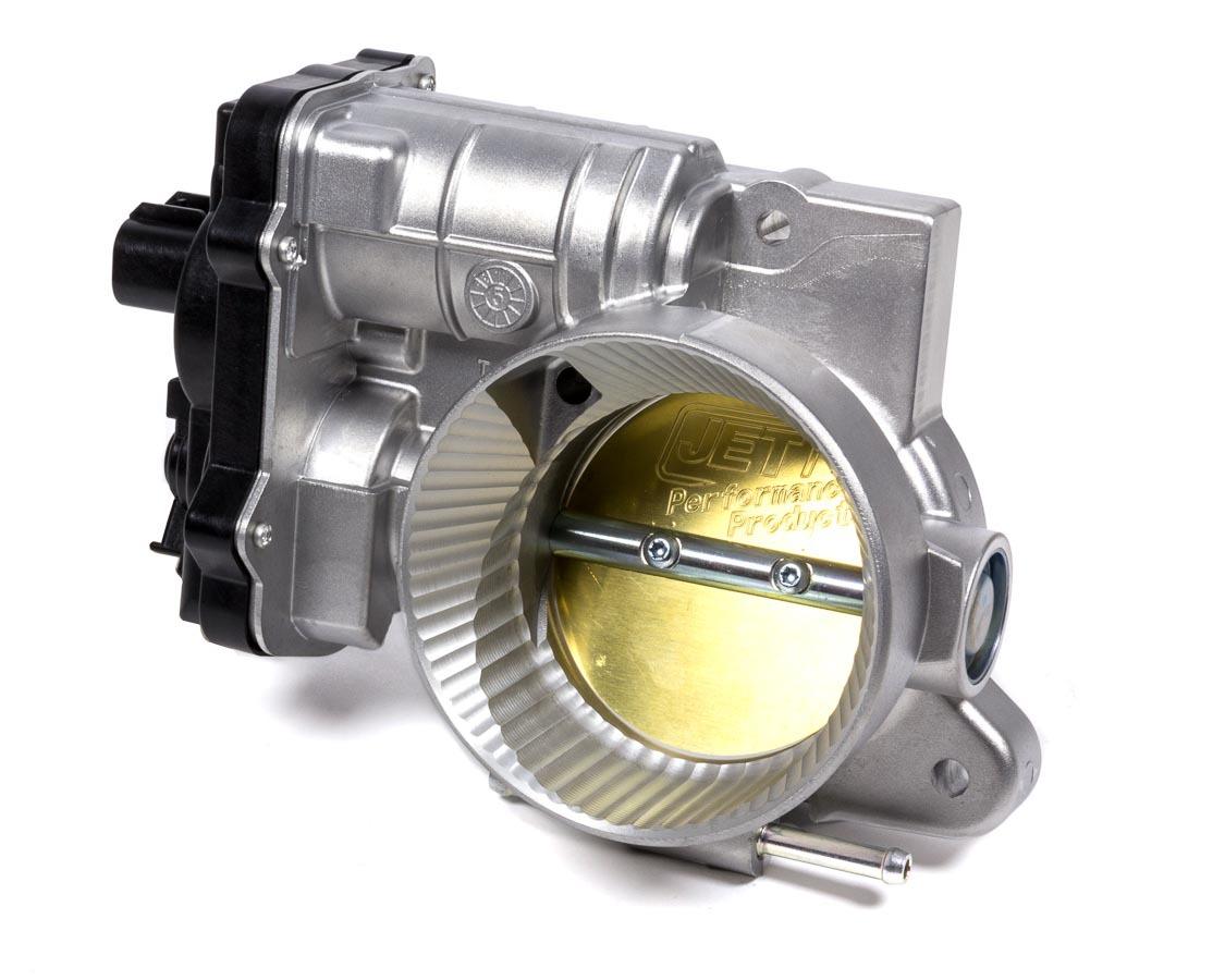 Jet Performance 76100 Throttle Body, Powr-Flo, Stock Size, Aluminum, Natural, Various GM Applications 2003-07, Each