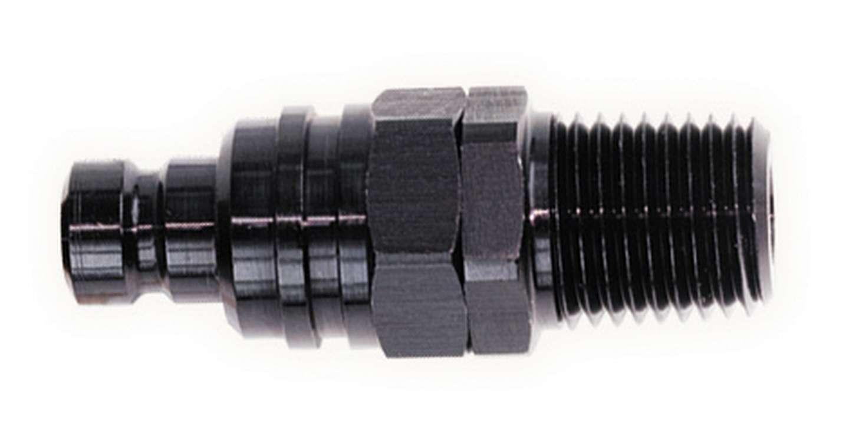 Q/R Male 1/8in NPT Plug Black