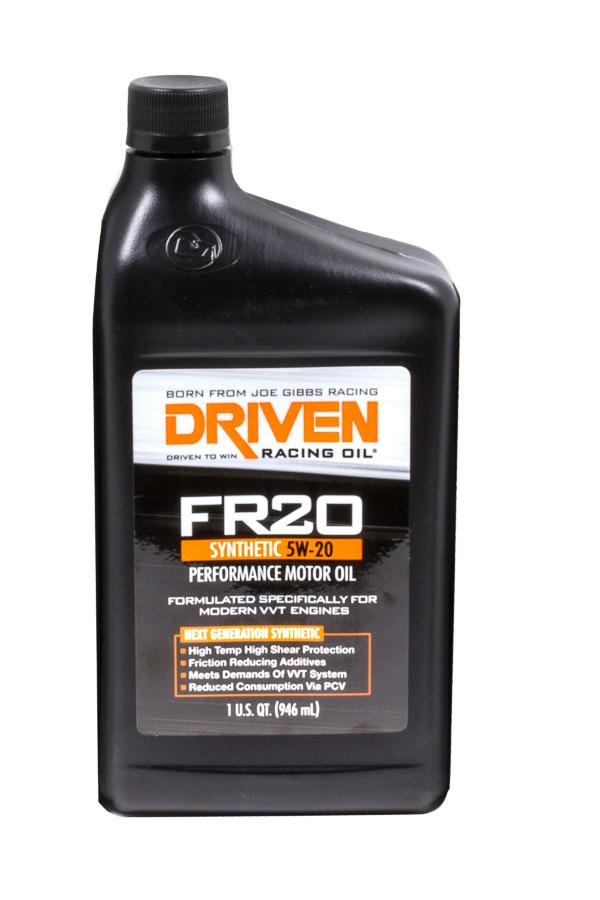FR20 5w20 Synthetic Oil 1 Qt Bottle