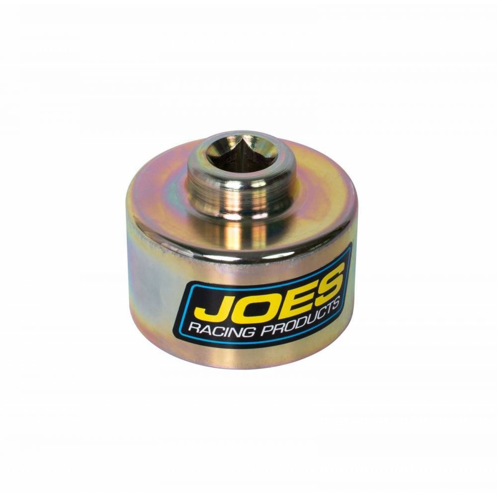 Joes Racing Products 40050 Ball Joint Socket, 1/2 in Drive, Steel, Zinc Oxide, Screw-In Upper Ball Joints, Each