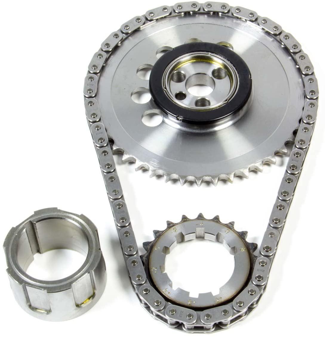 JP Performance 5622T Timing Chain Set, Single Roller, Keyway Adjustable, Needle Bearing, Billet Steel, GM LS-Series, Kit