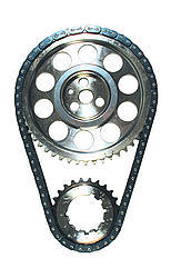 SBC Billet Double Roller Timing Set w/BBC Snout