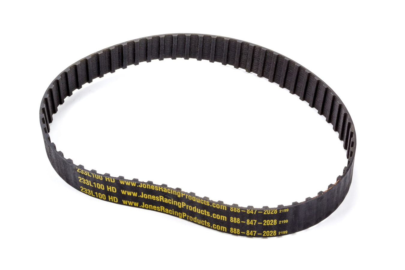 Jones Racing Products 233-L-100 Gilmer Drive Belt, 23.25 in Long, 1 in Wide, 3/8 in Pitch, Each