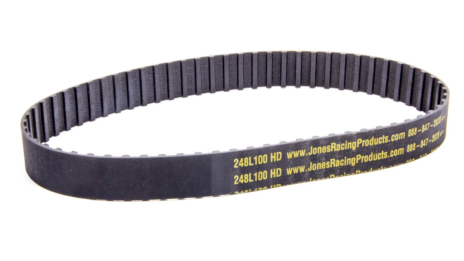 Jones Racing Products 248-L-100 Gilmer Drive Belt, 24.75 in Long, 1 in Wide, 3/8 in Pitch, Each
