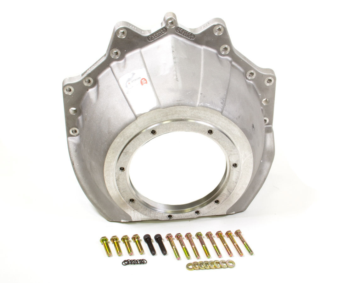 J-W Performance 92451LS Bellhousing, Ultra-Bell, SFI 30.1, Aluminum, Natural, TH400, GM LS-Series, Each