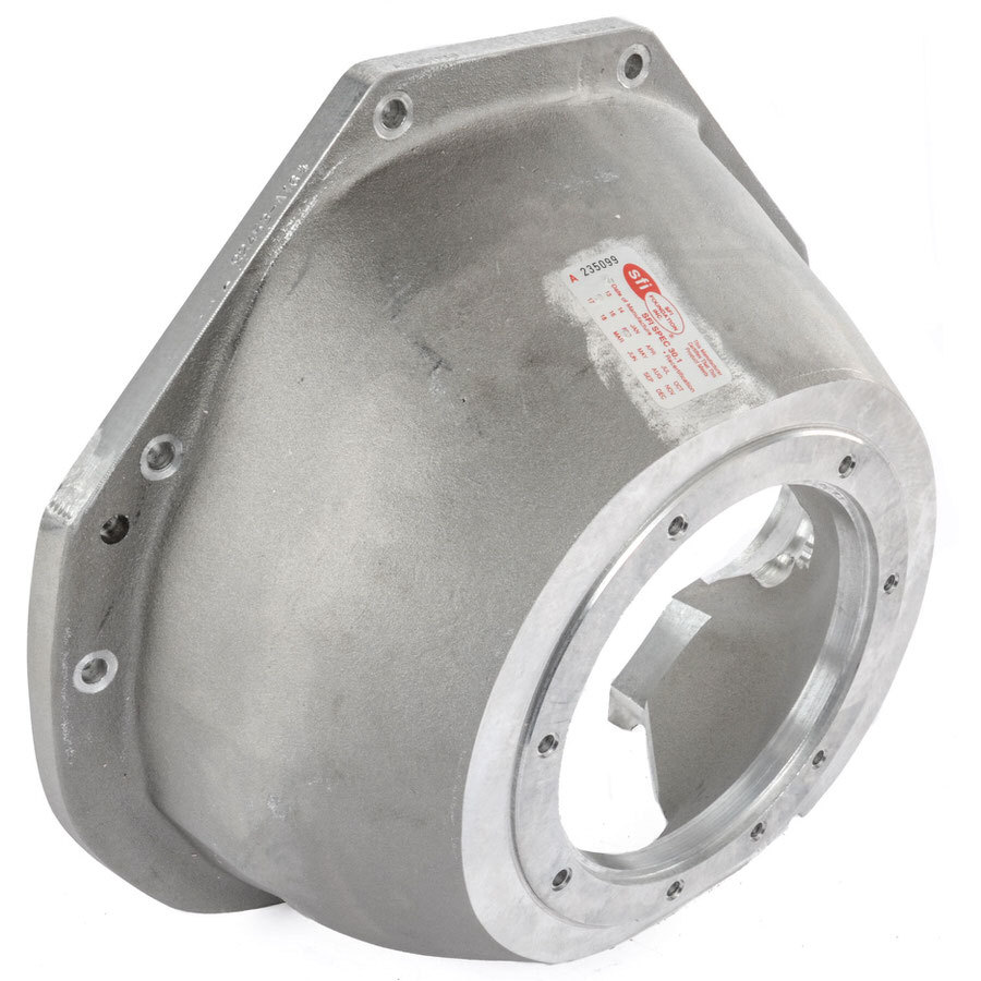 J-W Performance 92453-A164 Bellhousing, Ultra-Bell, SFI 30.1, Aluminum, Natural, TH400, 164 Tooth Flexplate, Small Block Ford, Each