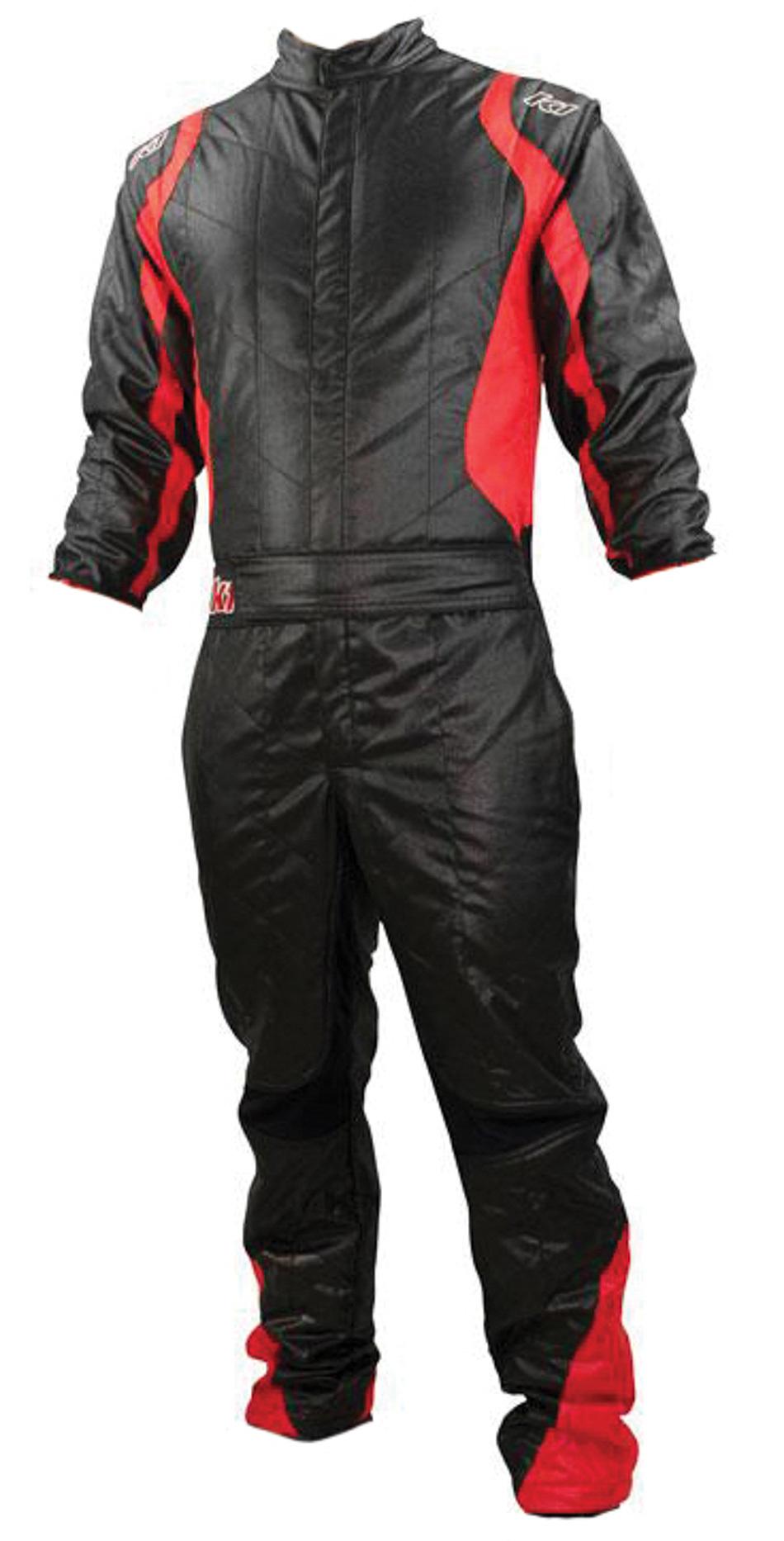 Suit Precision II Black / Red Medium