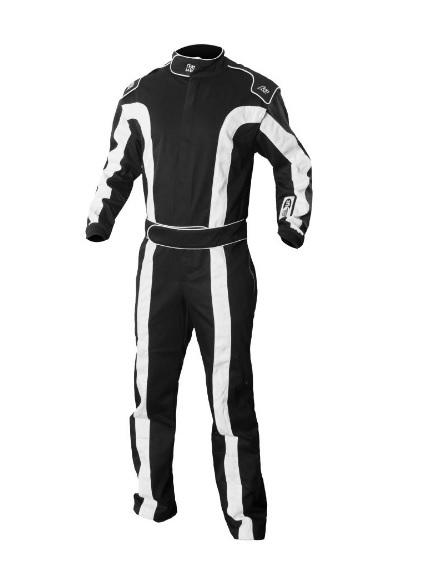 Suit Triumph 2 Black Large /-X-Large SFI 1