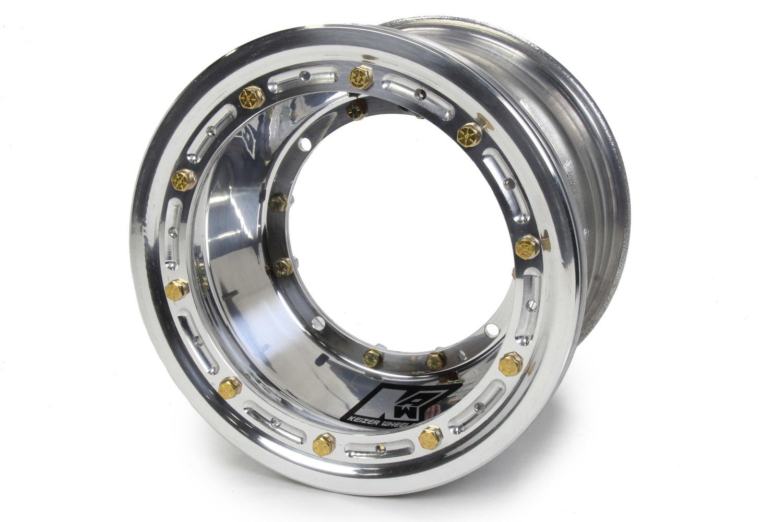 KEIZER ALUMINUM WHEELS, INC. Direct MNT Wheel B/L 10x7 3in bs P/N - M1073BLBC