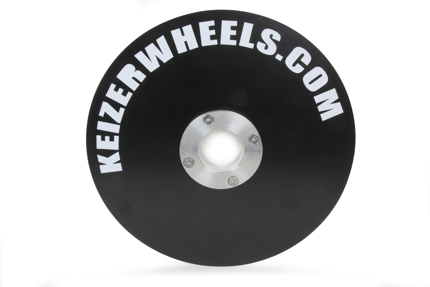 Keizer Aluminum Wheels M10IMC Mud Cover, Quick Release Fastener, Aluminum, Polished, Inner, 10 in Wheels, Each