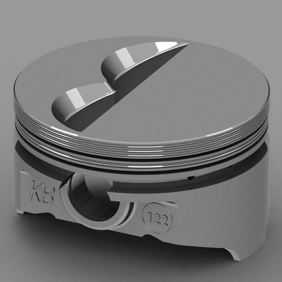 SBC Flat Top Piston Set 4.040 Bore -7cc