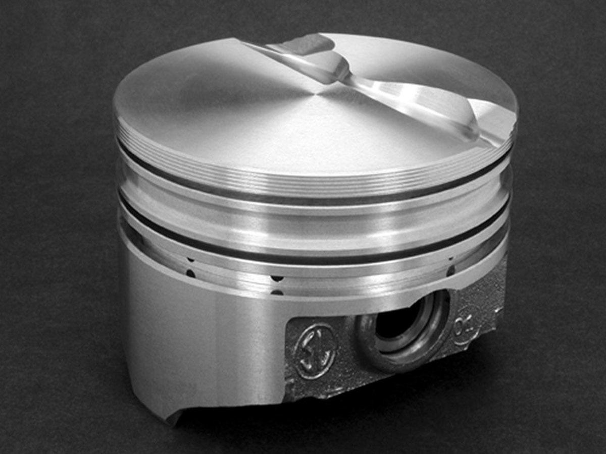 SBF Flat Top Piston Set 4.030 Bore -6.5cc