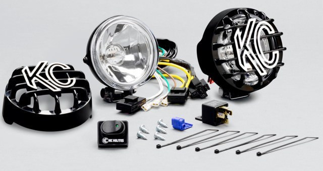 4in Rally 400 Driving Beam KIt Halogen