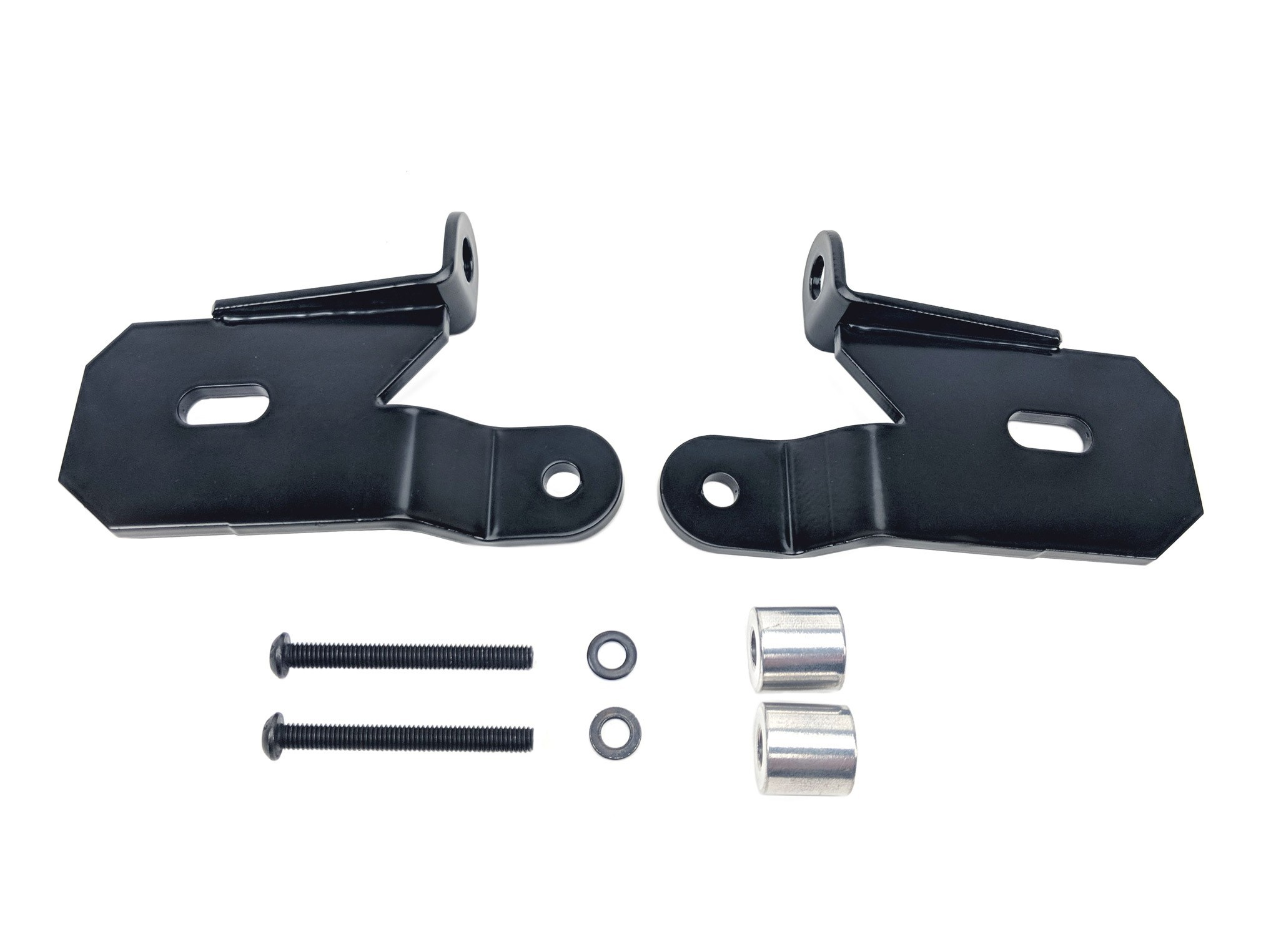 18-   Jeep JL A-Pillar Bracket Set Light Mounts