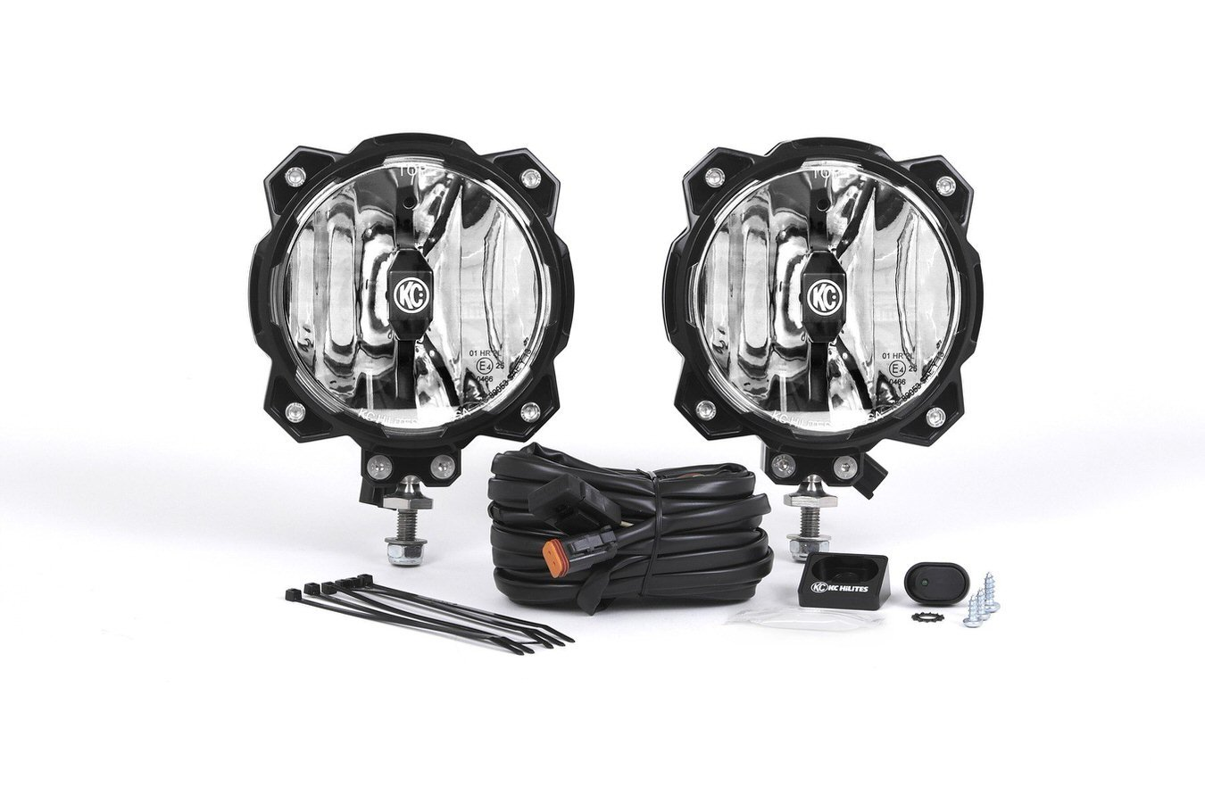 Pro6 Gravity LED Light Spot Beam Pair