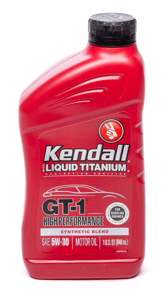 Kendall 5w30 Oil GT-1 High Performance
