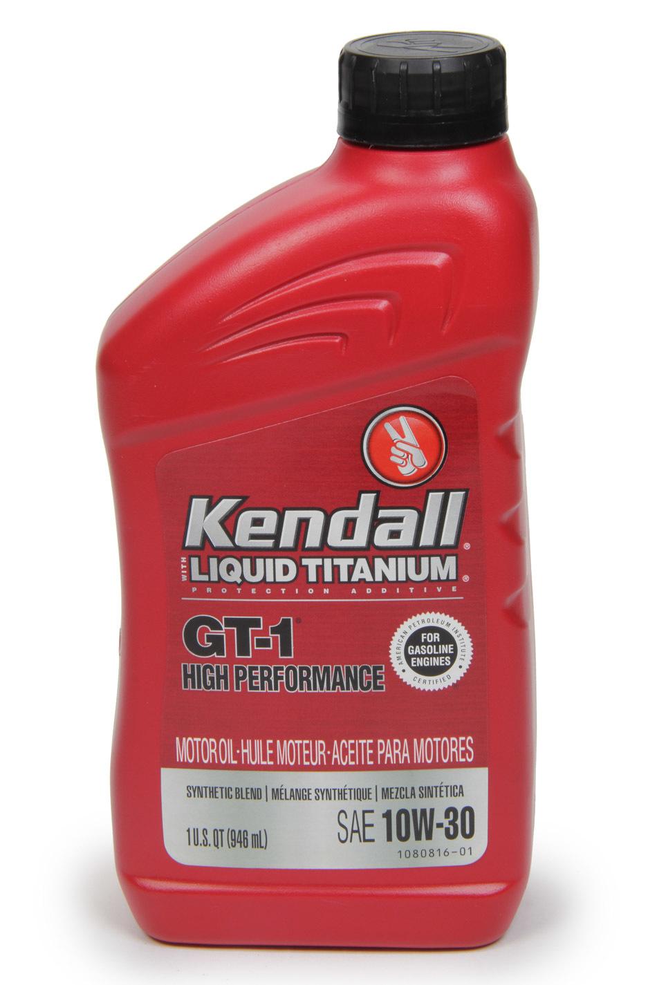 Kendall 10w30 GT-1 1Qt.
