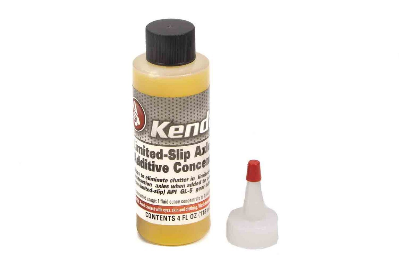 Kendall Oil 505-7478 Friction Modifier Additive, Break-In, Limited Slip Differential, 4 oz Bottle, Each