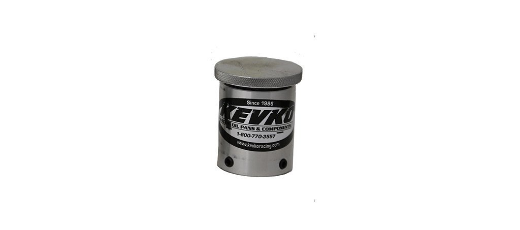 Kevko Oil Pans K9040 Oil Fill Cap, Screw-On, Round, Knurled Cap, Push-On Adapter, O-Ring Seal, Set Screws, Aluminum, Natural, 1-1/2 in Breather Tubes, Each