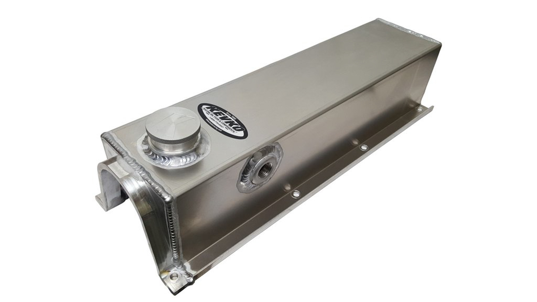 Kevko Oil Pans VC212 Valve Cover, Fabricated Aluminum, Natural, Ford, 2300 4-Cyl, Each