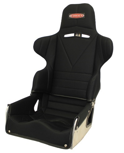 Kirkey 65150KIT Seat, 65 Series, 15 in Wide, 18 to 23 Degree Layback, Cover Included, Aluminum, Natural, Kit