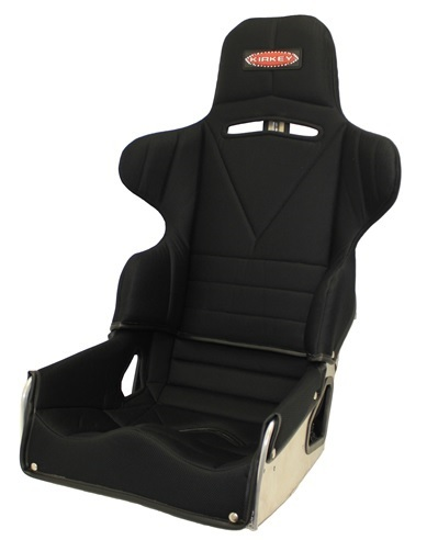 Kirkey 65160KIT Seat, 65 Series, 16 in Wide, 18 to 23 Degree Layback, Cover Included, Aluminum, Natural, Kit