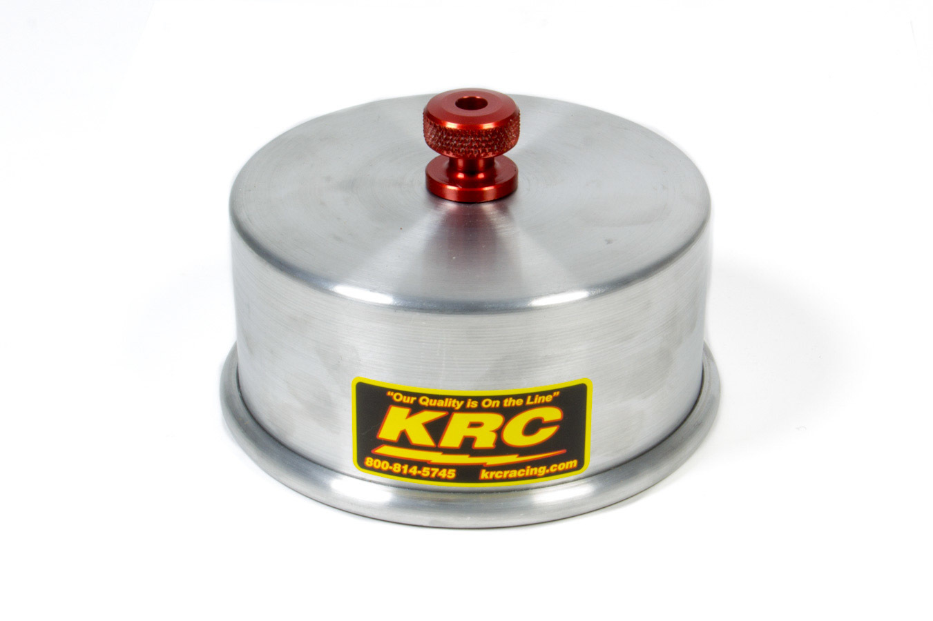 Kluhsman Racing Products 1030 Carburetor Cover, 5/16-18 in Speed Nut, O-Ring Seal, Aluminum, Natural, 5-1/8 in Flange, Each
