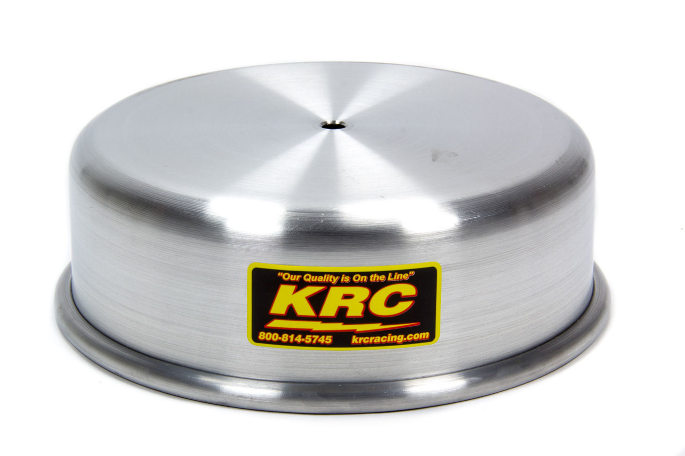 Kluhsman Racing Products 1032 Carburetor Cover, O-Ring Seal, Aluminum, Natural, 7-5/16 in Flange, Each