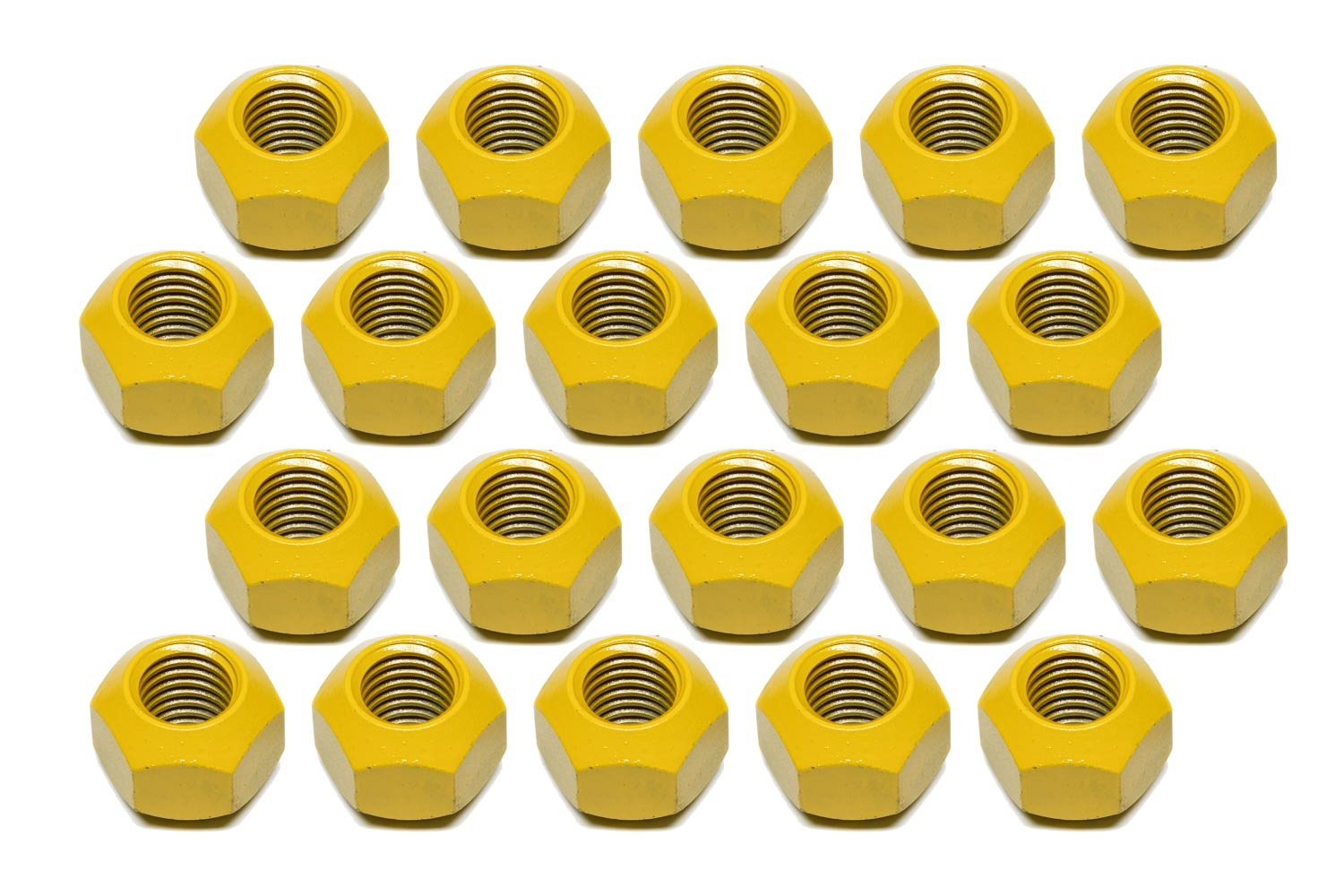 KLUHSMAN RACING PRODUCTS Lugnut 20pk 5/8-11 Steel Teflon Coated Double Ang P/N - KRC-8212T*