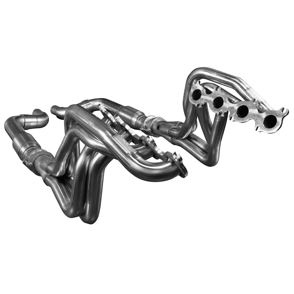 Kooks Headers 1151H421 Headers, 1-7/8 in Primary, 3 in Collector, Stainless, Natural, Ford Coyote, Ford Mustang 2015-20, Kit