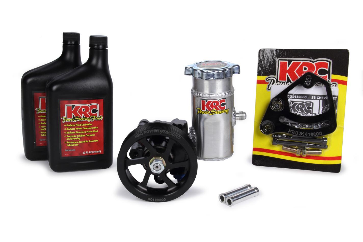 P/S Pump Kit w/Bolt-On Tank / Block Mnt & Fluid