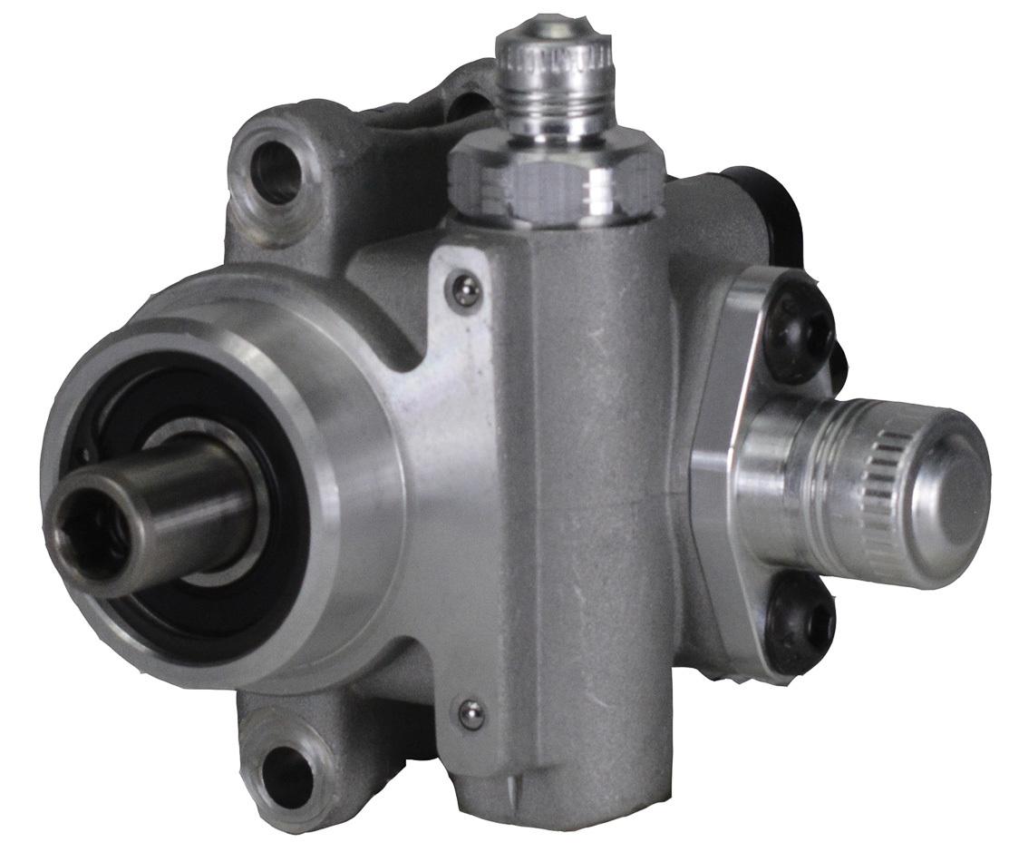 KRC Power Steering ESP10096821 Power Steering Pump, Elite, Adjustable psi, 3/8 in Hex Drive, Aluminum, Natural, Universal, Each