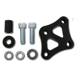 K.S.E. Racing KSC1056 Power Steering Pump Bracket, Hardware Included, Aluminum, Black Anodize, Small Block Chevy, Kit