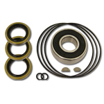 K.S.E. Racing KSC1076B Power Steering Pump Bearing / Seal Kit, Bearings / Seals / Woodruff Keys, KSE Tandem Pumps, Kit