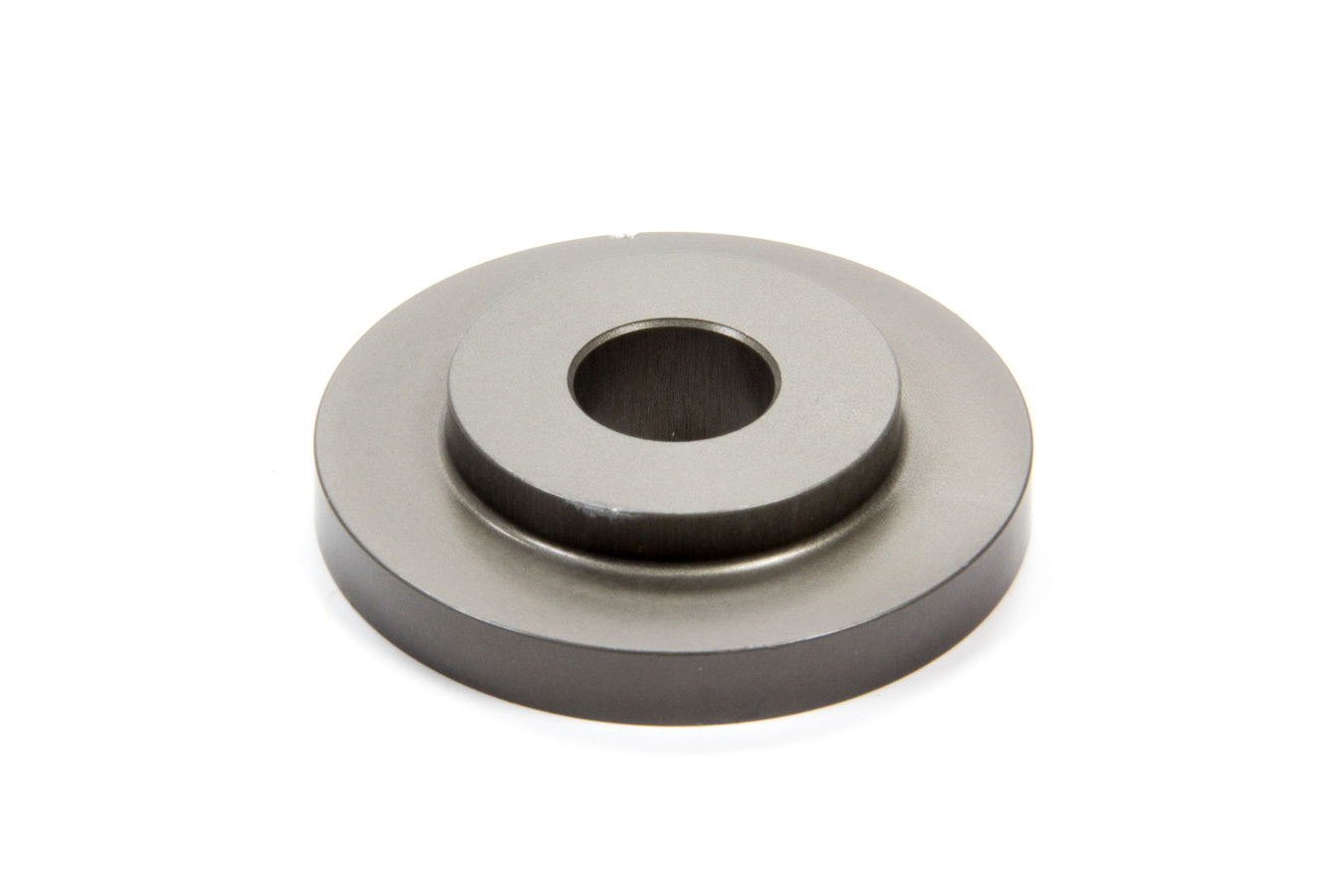 Landrum Springs BC345/16MM Bump Stop Cup, Single Spring, 2.000 in OD, 16 mm Shaft, Aluminum, Gray Anodized, Each